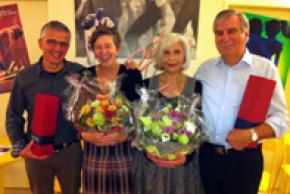 Christine und Jos Bächli, Brigitte und Pedro Häfliger