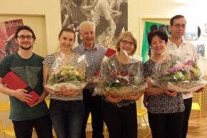 Alex und Nadja Lechmann, Eva und Diego Lechmann, Edith und Jürg Sterchi