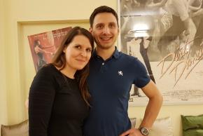 Barbara Lüpold und Juri Steiner