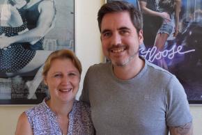 Peter und Daniela Scheidegger