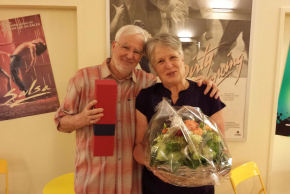 Claudine und Peter Weber
