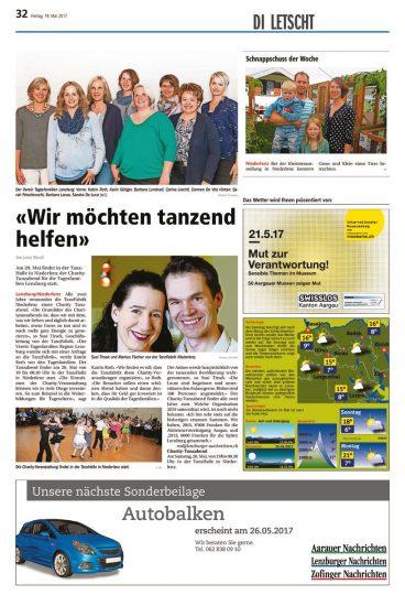 thumbnail of aarauer-nachrichten 19.05.17 charity tanzfabrik niederlenz